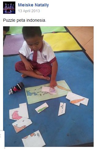 Aktivitas Paud Bertema Cinta Tanah Air Dunia Belajar Anak