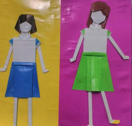 Kreasi iBonekai dan iBajui Anak dari Kertas Origami a Dunia