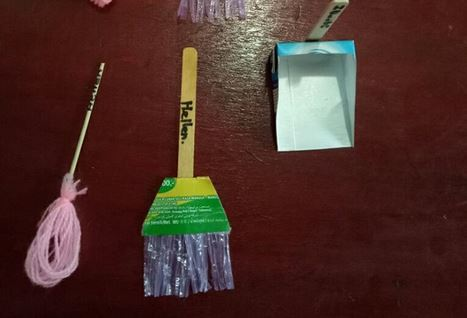 Alat Kebersihan Lingkungan Dari Bahan Bekas Dunia Belajar Anak