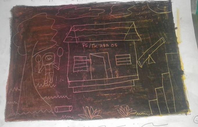 1-kak-zepe-melukis-rumah-gambar-garis-pastel