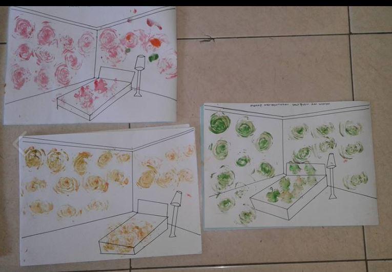 4-kak-zepe-melukis-rumah-gambar-garis-pastel