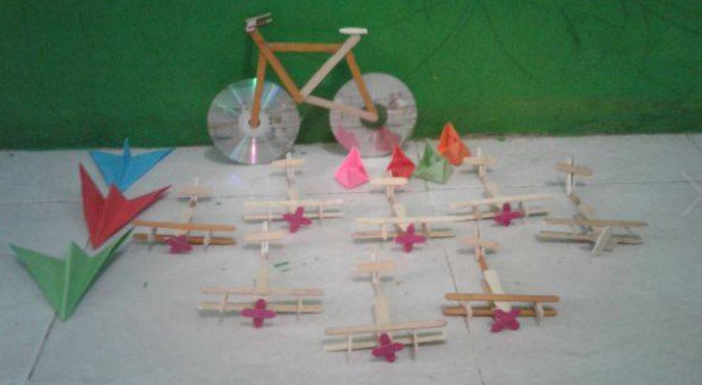 Kreasi Tema Alat Transportasi Karya Kak Maya Emilia Dunia Belajar Anak