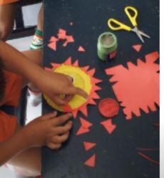 Kreasi Berbentuk Matahari Dari Mangkuk Kertas Karya Kak Suartiny