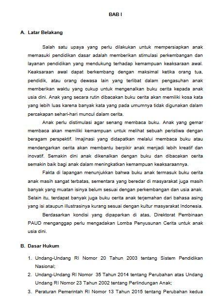 Contoh Teks Lomba Bercerita Anak Tk Tema Lingkungan ...