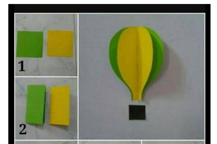 balon udara kreasi transportasi