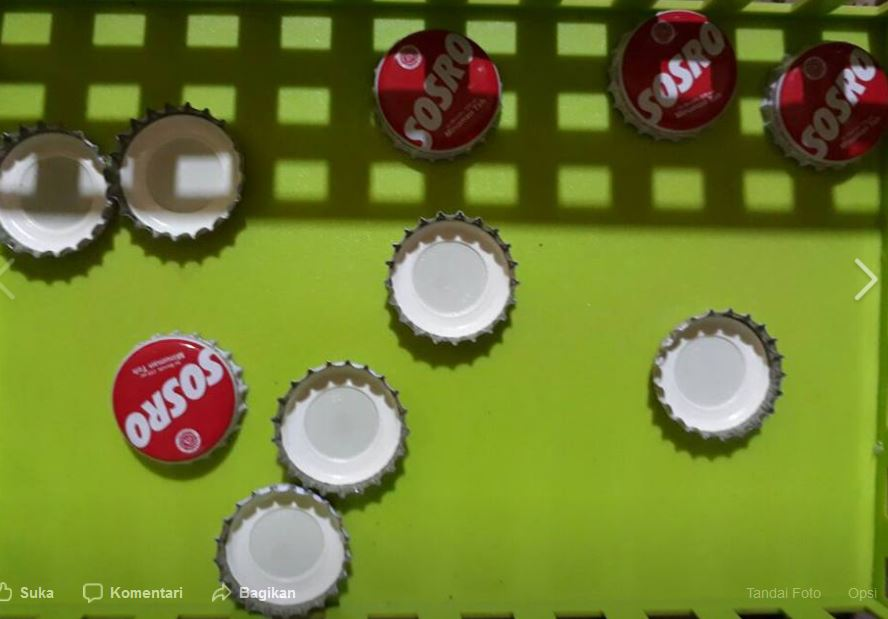 Media Belajar Hitung Dari Tutup Botol Bekas Dan Kain Flanel Dunia