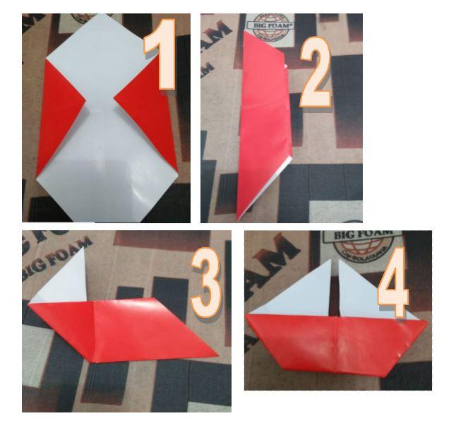Kapal Origami Piring Kertas - Dunia Belajar Anak