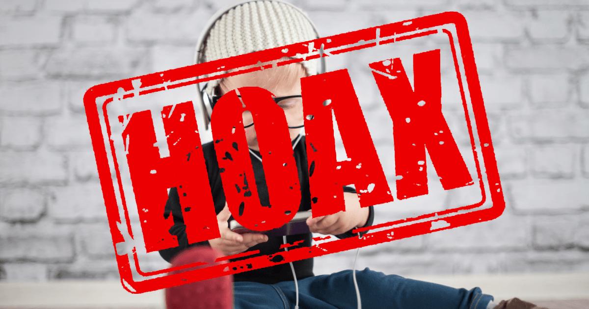 Stop hoax pada anak